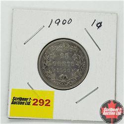 Canada Twenty Five Cent 1900
