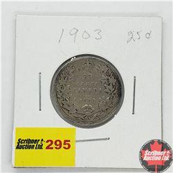 Canada Twenty Five Cent 1903