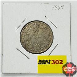 Canada Twenty Five Cent 1927