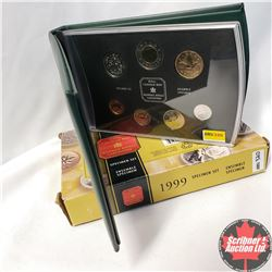 CHOICE OF 12: RCM 1999 Specimen Set of Canadian Coinage