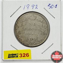 Canada Fifty Cent 1892