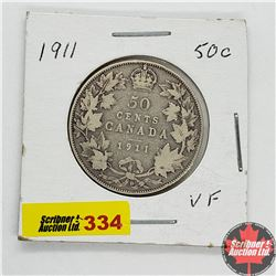 Canada Fifty Cent 1911