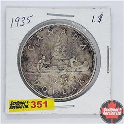 Canada One Dollar : 1935