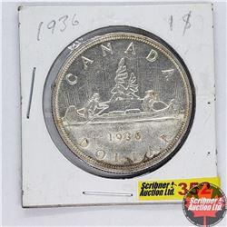 Canada One Dollar : 1936