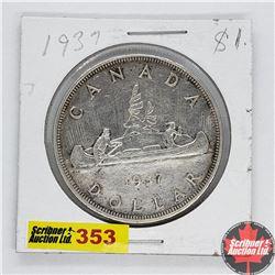 Canada One Dollar : 1937