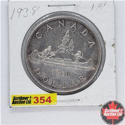 Canada One Dollar : 1938