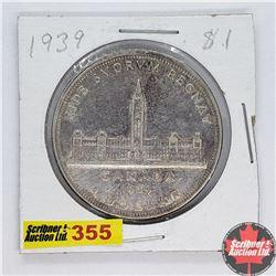 Canada One Dollar : 1939