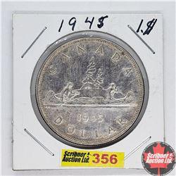 Canada One Dollar : 1945
