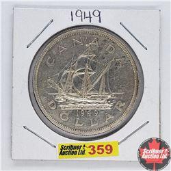 Canada One Dollar : 1949