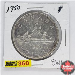Canada One Dollar : 1950