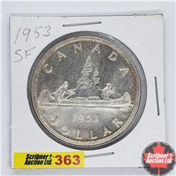 Canada One Dollar : 1953SF