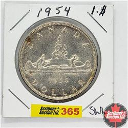 Canada One Dollar : 1954