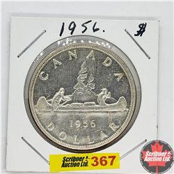 Canada One Dollar : 1956