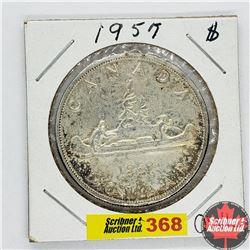 Canada One Dollar : 1957 OWL