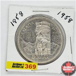 Canada One Dollar : 1858-1958