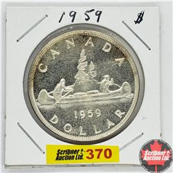 Canada One Dollar : 1959