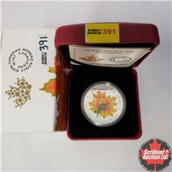 CHOICE OF 4: RCM 2014 $20 Fine Silver Coin - Maple Leaves (99.99% Pure)