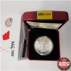 RCM 2014 $25 Fine Silver Coin - O Canada - Under the Maple Tree (99.99% Pure)