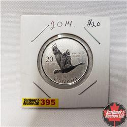 Canada $20 Fine Silver Coin 2014
