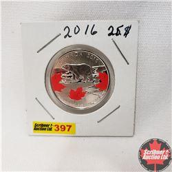 Canada $25 Fine Silver Coin 2016
