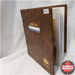 Proof Sets in Unisafe Binder: 1870-1970; 1871-1971; 1972; 1873-1973 (2); 1874-1974; 1975; 1976; 1977