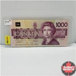 Canada $1000 Bill 1988 Thiessen/Crow S/N#EKA1798416