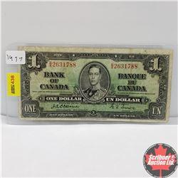 CHOICE OF 6: Canada 1937 $1 Bill : Osbourne/Towers BA2631788