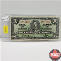 CHOICE OF 6: Canada 1937 $1 Bill : Gordon/Towers MM6564060