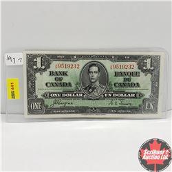 CHOICE OF 6: Canada 1937 $1 Bill : Coyne/Towers JN9519232