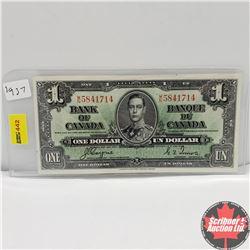 CHOICE OF 6: Canada 1937 $1 Bill : Coyne/Towers MN5841714