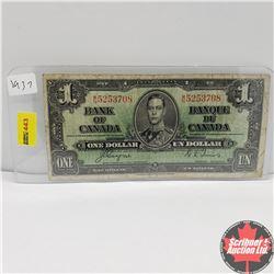 CHOICE OF 6: Canada 1937 $1 Bill : Coyne/Towers MN5253708