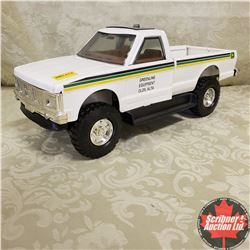"GMC 4x4 Truck ""Greenland Equipment Olds, AB"" John Deere Decals"