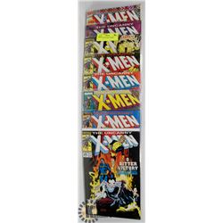 8 COLLECTOR X-MEN COMICS