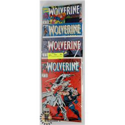 4 COLLECTOR WOLVERINE COMICS