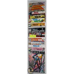 10 COLLECTOR SPIDERMAN COMICS