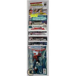 5 COLLECTORS  SPIDERMAN COMICS