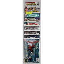 5 COLLECTORS  SPIDERMAN COMICS