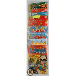 9 VINTAGE COLLECTOR ARCHIE COMICS