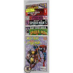 BUNDLE OF SPIDERMAN COLLECTORS COMICS