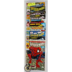 10 COLLECTORS SPIDERMAN COMICS