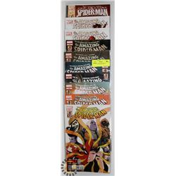 10 COLLECTORS SPIDERMAN COMICS