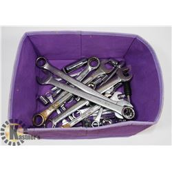 BIN OF SOCKETS AND WRENCHES