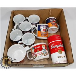 CAMPBELLS SOUP 125TH ANNIVERSARY SET OF