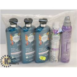 BAG OF HERBAL ESSENCES CONDITIONER AND MORE