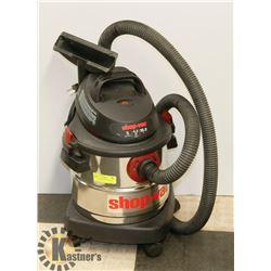 SHOP-VAC WET/DRY VACUUM, 4.5 HP, 18.9 L.