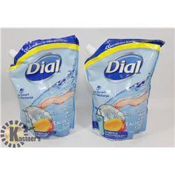 BAG OF DIAL SOAP REFILLS