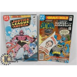 LOT OF 70S DC COMICS INCL JUSTICE LEAGUE OF