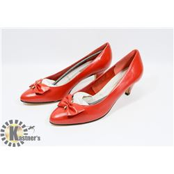 MARIE CLAIRE RED SZ 7.5