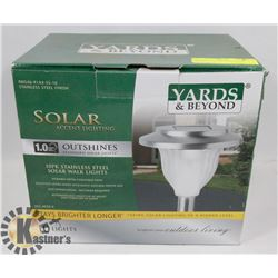 10PC YARDS & BEYOND SOLAR LIGHTS
