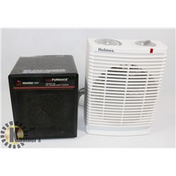 LOT OF 2 SPACE HEATERS